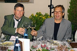 """Men of Wine"": Christian Werth und Hans Terzer"